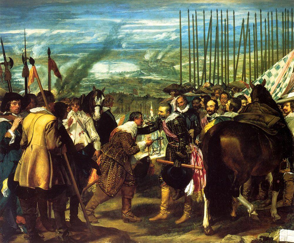 The Surrender of Breda by Diego Rodriguez de Silva Velazquez