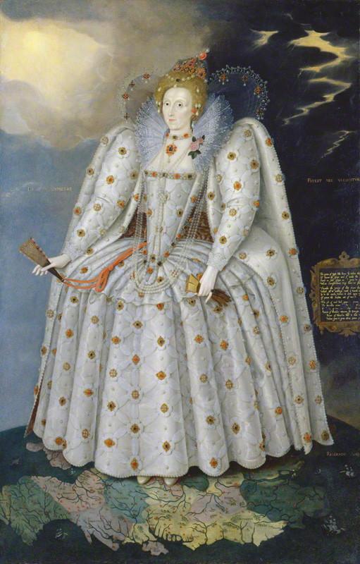 Queen Elizabeth I by Marcus Gheeraerts the Younger