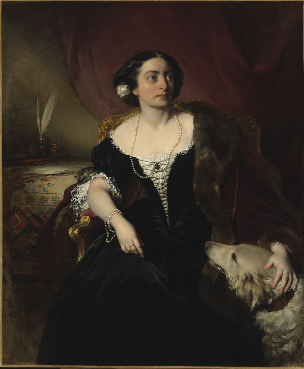 Countess Nákó by Friedrich von Amerling