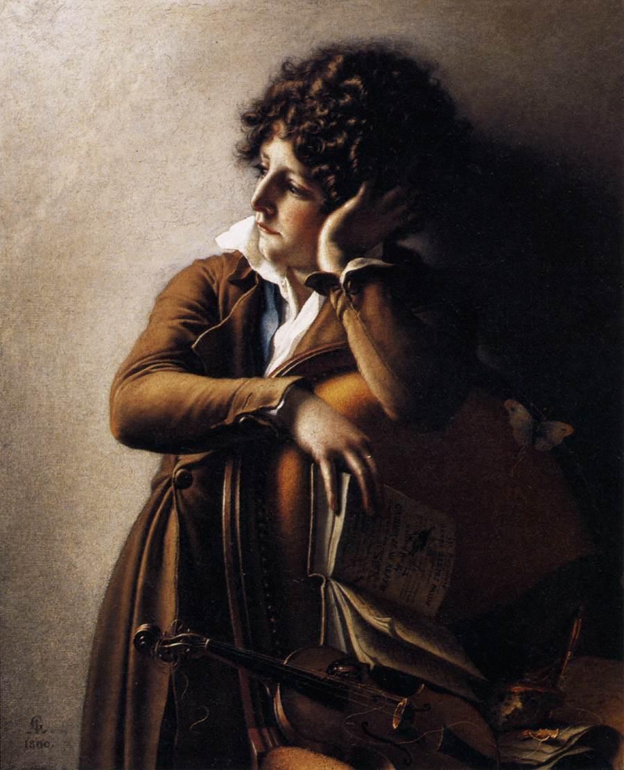 Benoît-Agnes Trioson by Anne Louis Girodet de Roucy Triosson