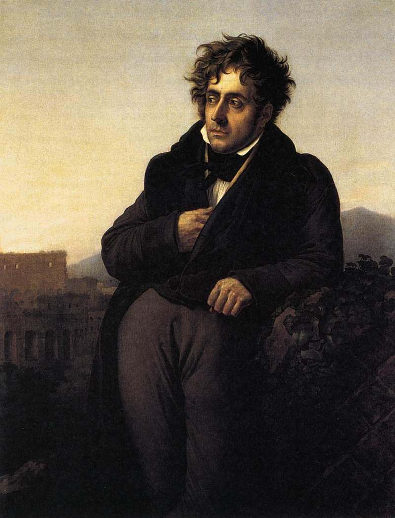 FrançoisRené de Chateaubriand by Anne Louis Girodet de Roucy Triosson