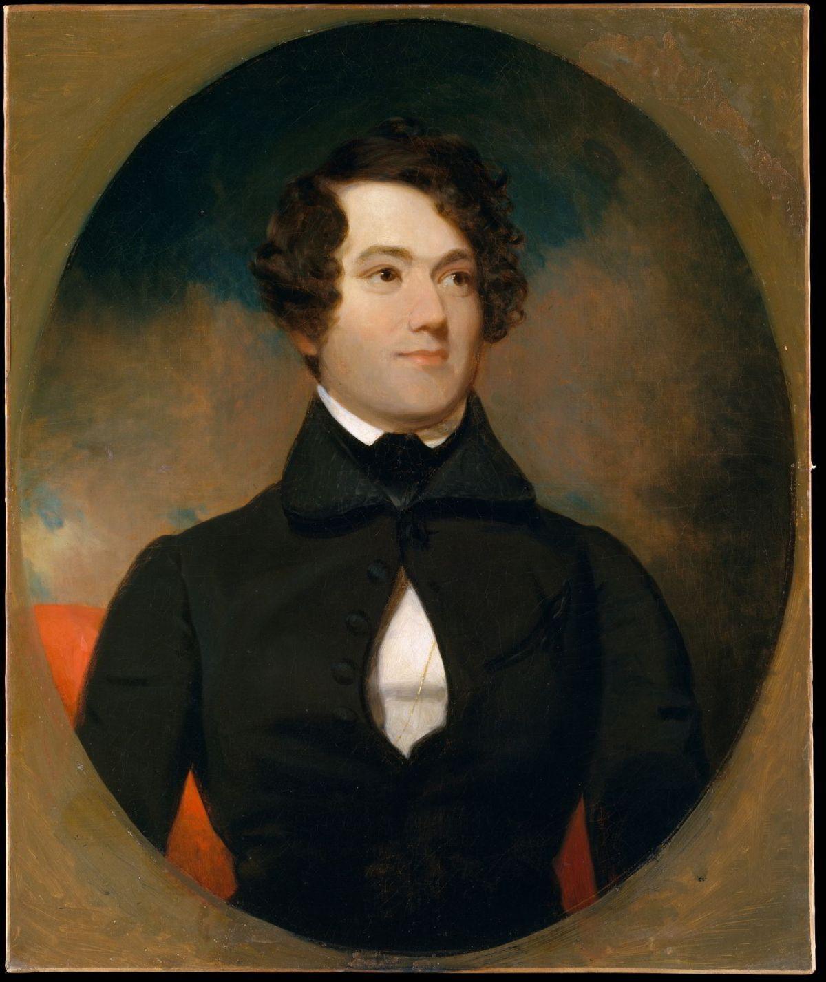 Henry G. Stebbins by Henry Inman
