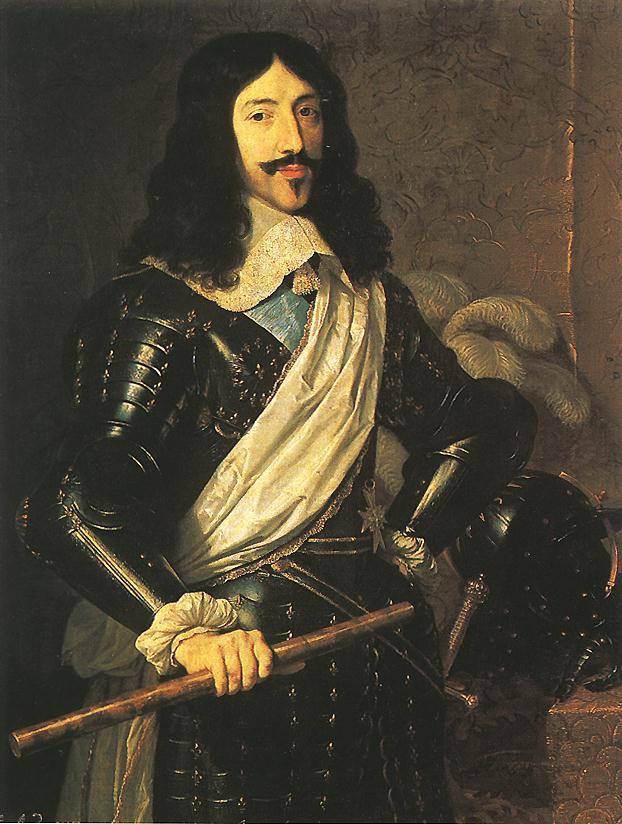 King Louis XIII by Philippe de Champaigne