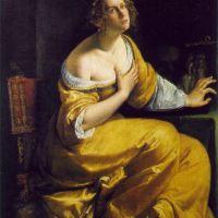 Mary Magdalen by Artemisia Gentileschi