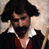 Miehen Muotokuva by Helene Schjerfbeck
