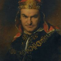 Portrait of the actor Bogumil Dawson as Richard III by Friedrich von Amerling
