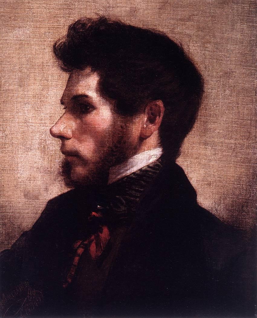 Self-Portrait by Friedrich von Amerling