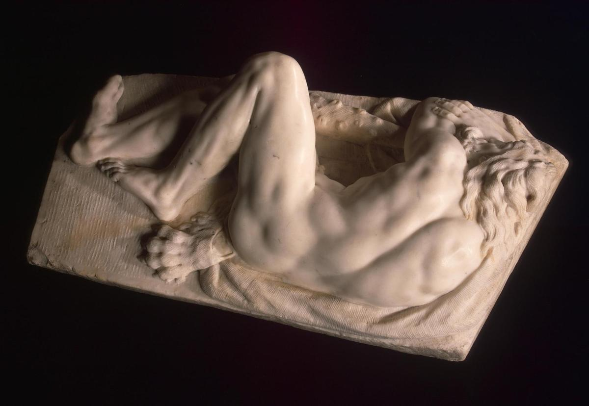 Sleeping Hercules by Baccio Bandinelli