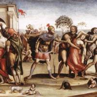 The Rape of the Sabine Women by Il Sodoma