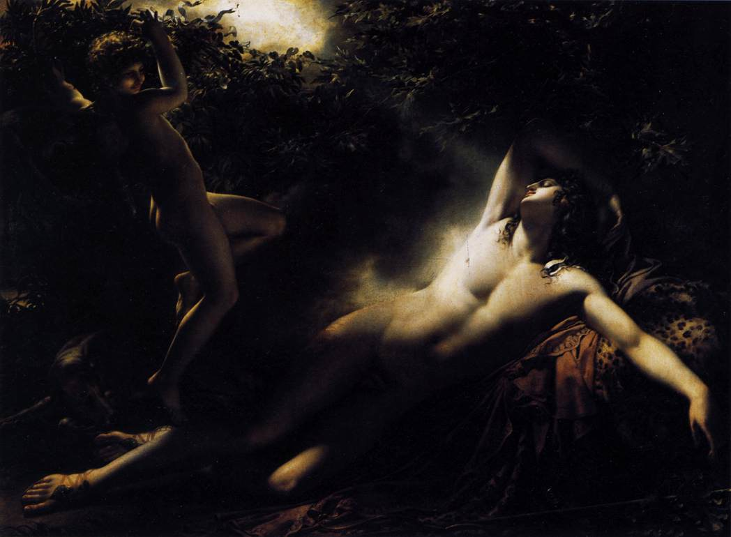 The Sleep of Endymion by Anne Louis Girodet de Roucy Triosson