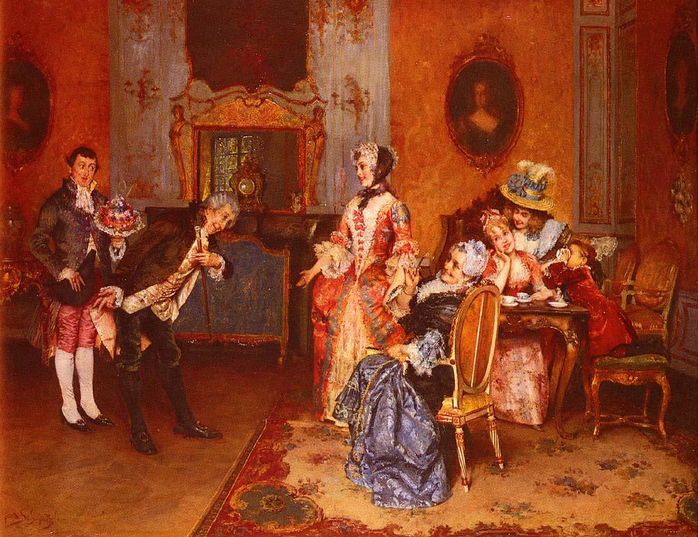 The Suitor by Leopold Schmutzler