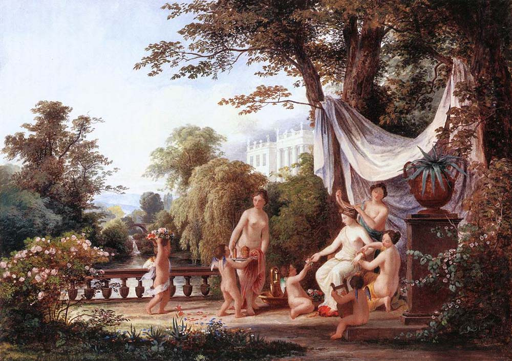 The Toilette of Venus by Karoly the Elder Marko