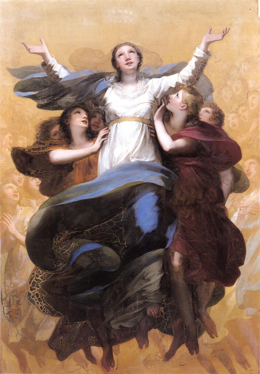 LAssomption de la Vierge by Pierre Paul Prudhon