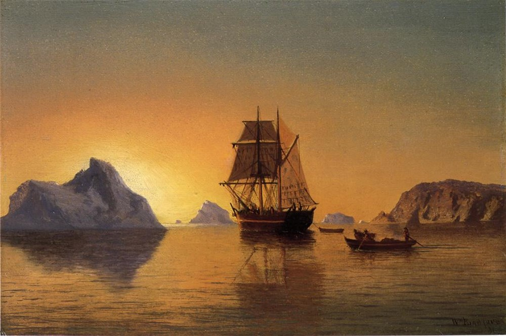An Arctic Scene by William Bradford