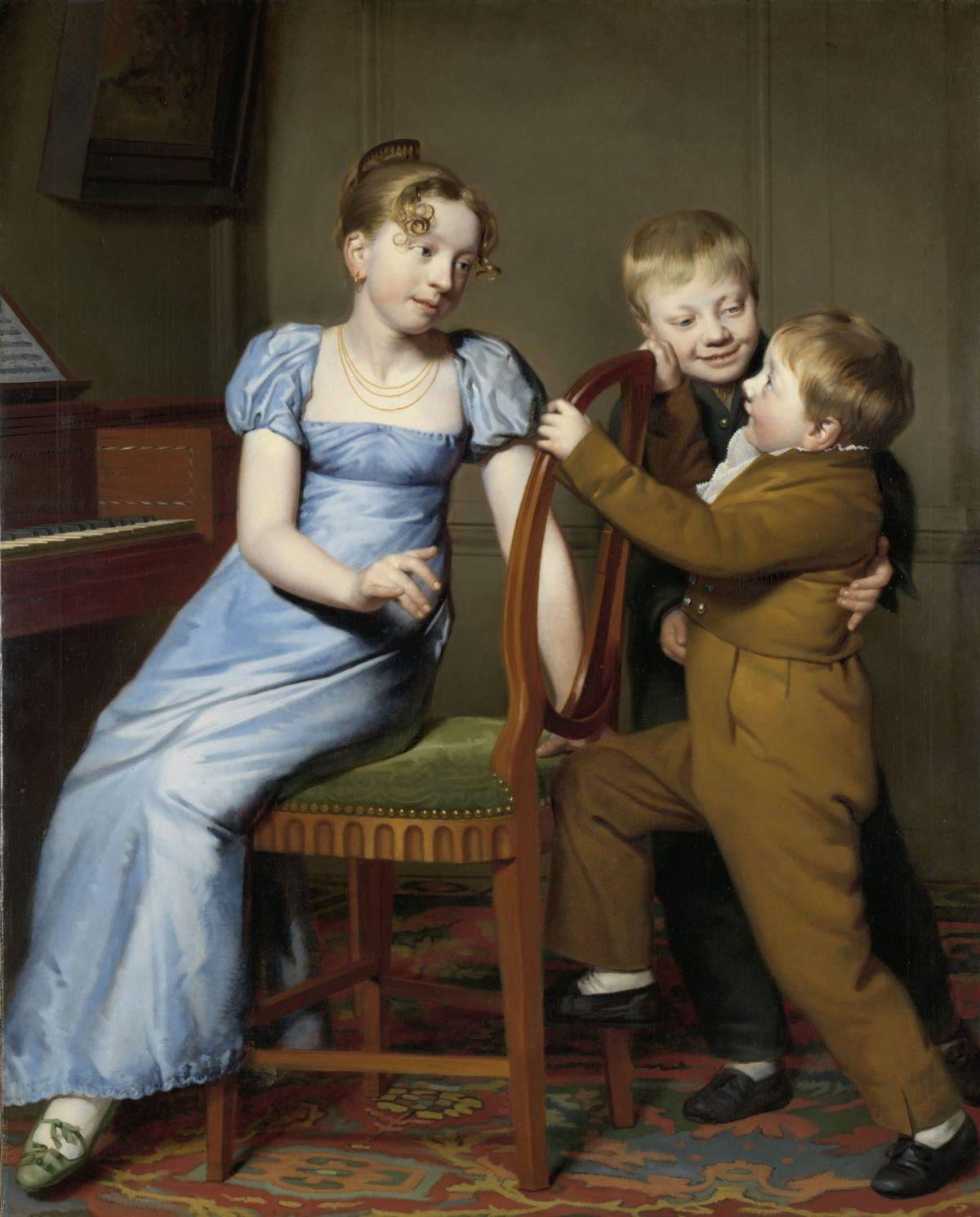 Piano Practice Interrupted by Willem Bartel van der Kooi