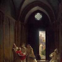 Death of the Prince de Talmont by Fleury Francois Richard