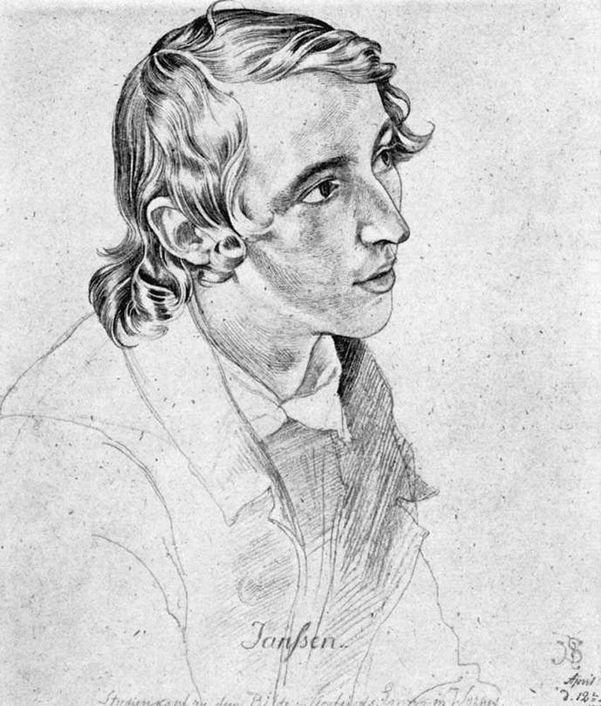 Portrait of Victor Emil Jansen by Julius Schnorr von Carolsfeld