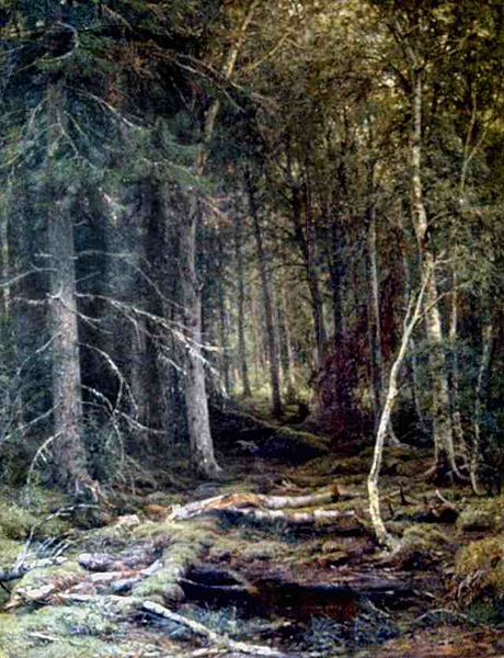 The Forest Horizons by Ivan Shishkin