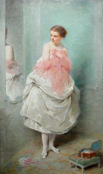 Avant le bal by Charles Chaplin