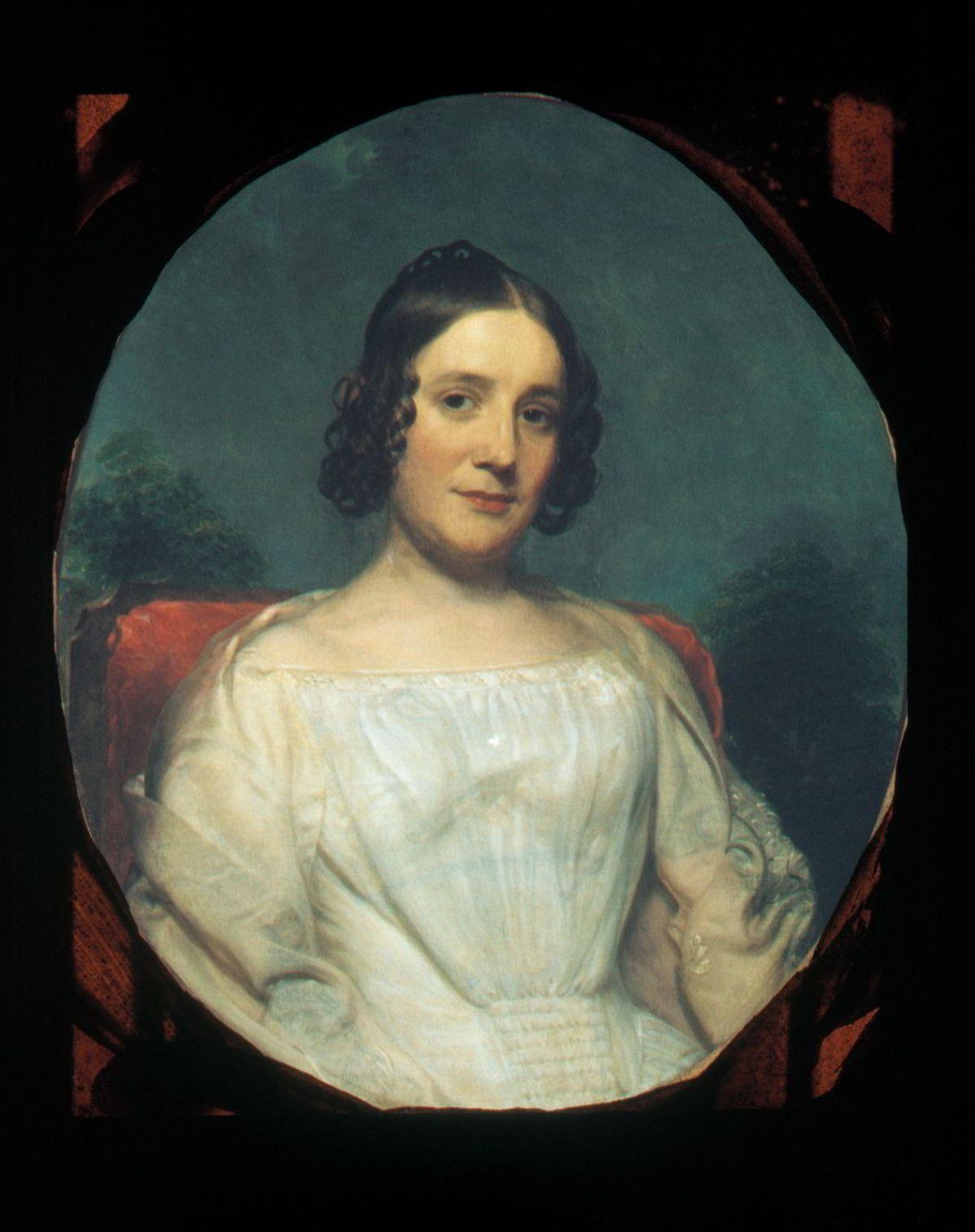 Mrs. Adrian Baucker Holmes by Charles Wesley Jarvis
