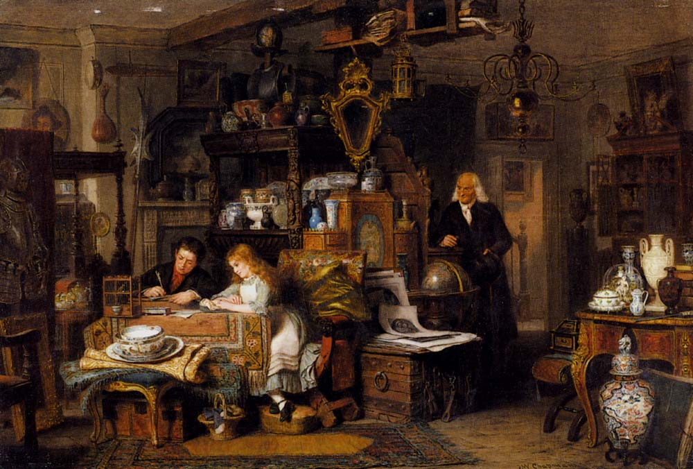 The Old Curiosity Shop by John Watkins Chapman