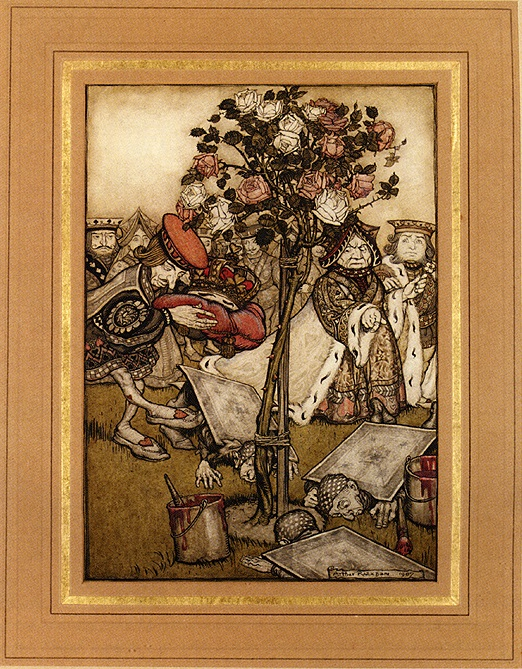 Alice in Wonderland: The Mock Turtle's Story by Arthur Rackham
