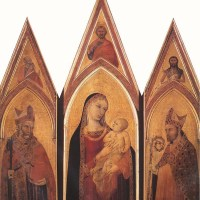 Altarpiece of St Proculus by Ambrogio Lorenzetti