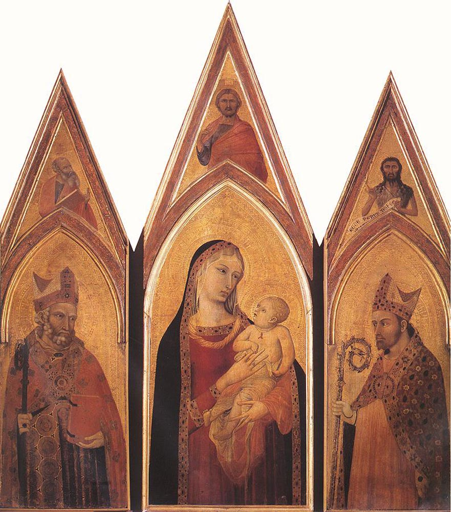 Altarpiece of St Proculus by Ambrogio Lorenzetti