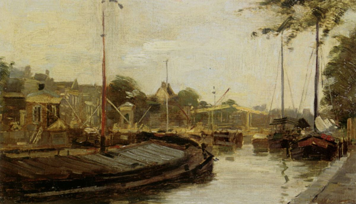 Amsterdam by Edward Seago
