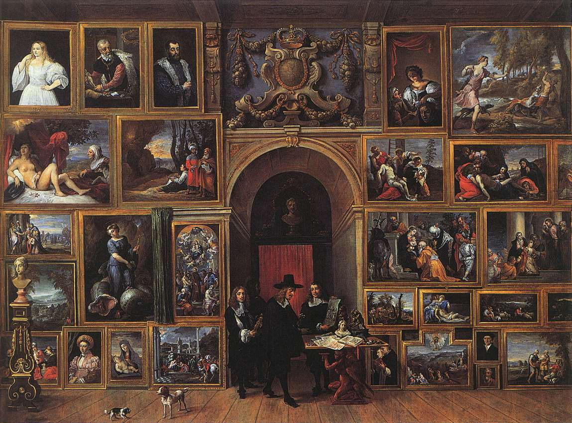 Archduke Leopold Wilhelm in his Gallery by David the Younger Teniers