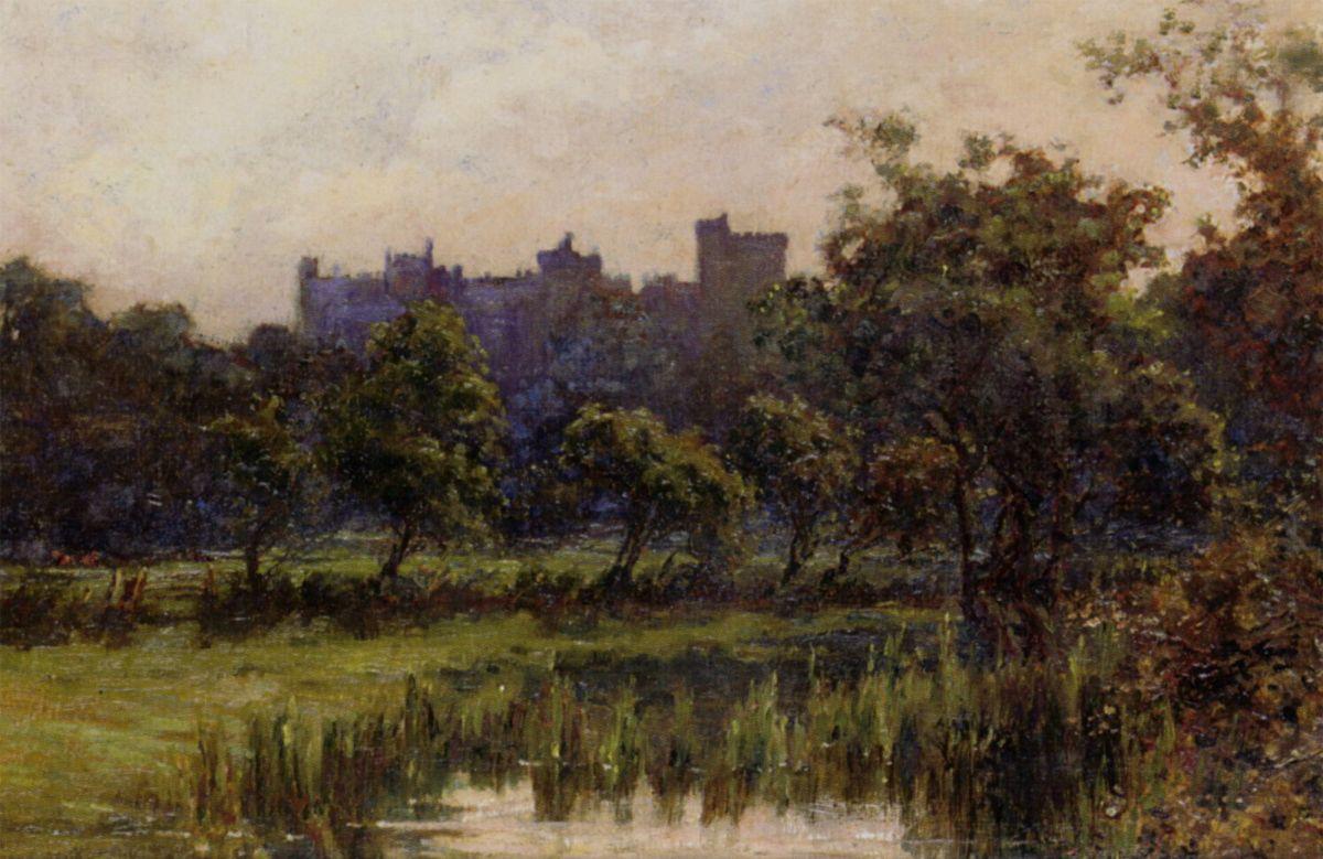 Arundel Castle by Edward Seago