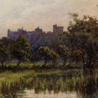 Arundel Castle by Edward Seago