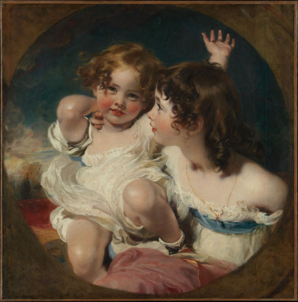 Calmady Children by Sir Thomas Lawrence