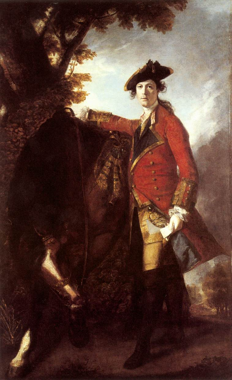 Captain Robert Orme by Joshua Reynolds