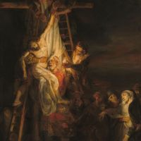 Descent from the Cross by Rembrandt