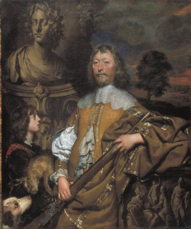 Endymion Porter by William Dobson