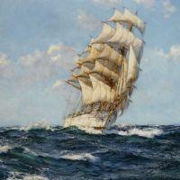 Fair Wind by Montague Dawson