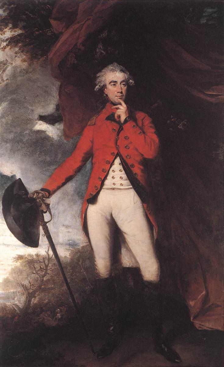 Francis Rawdon Hastings by Joshua Reynolds