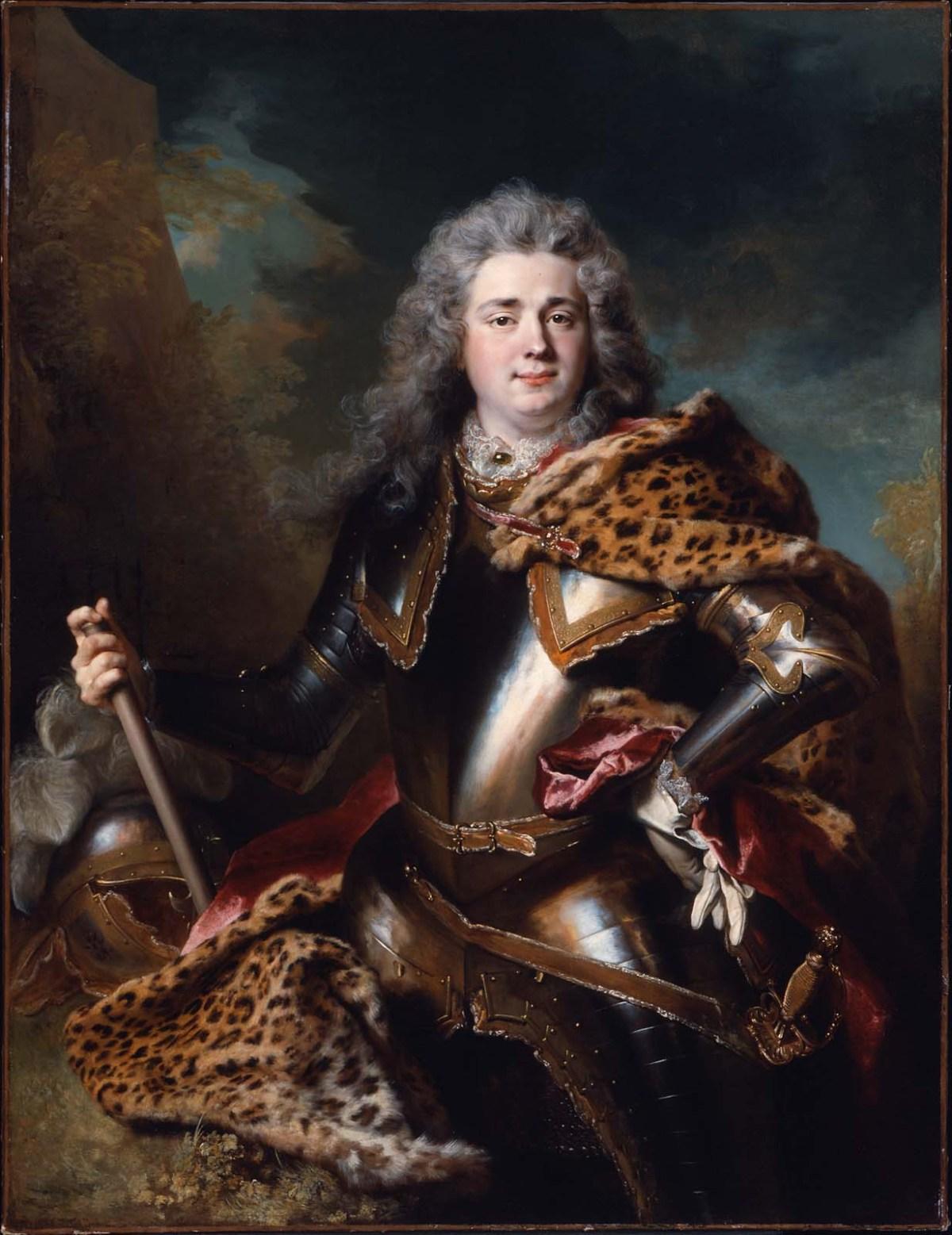 François de Gontaut, Duc de Biron by Nicolas De Largilliere