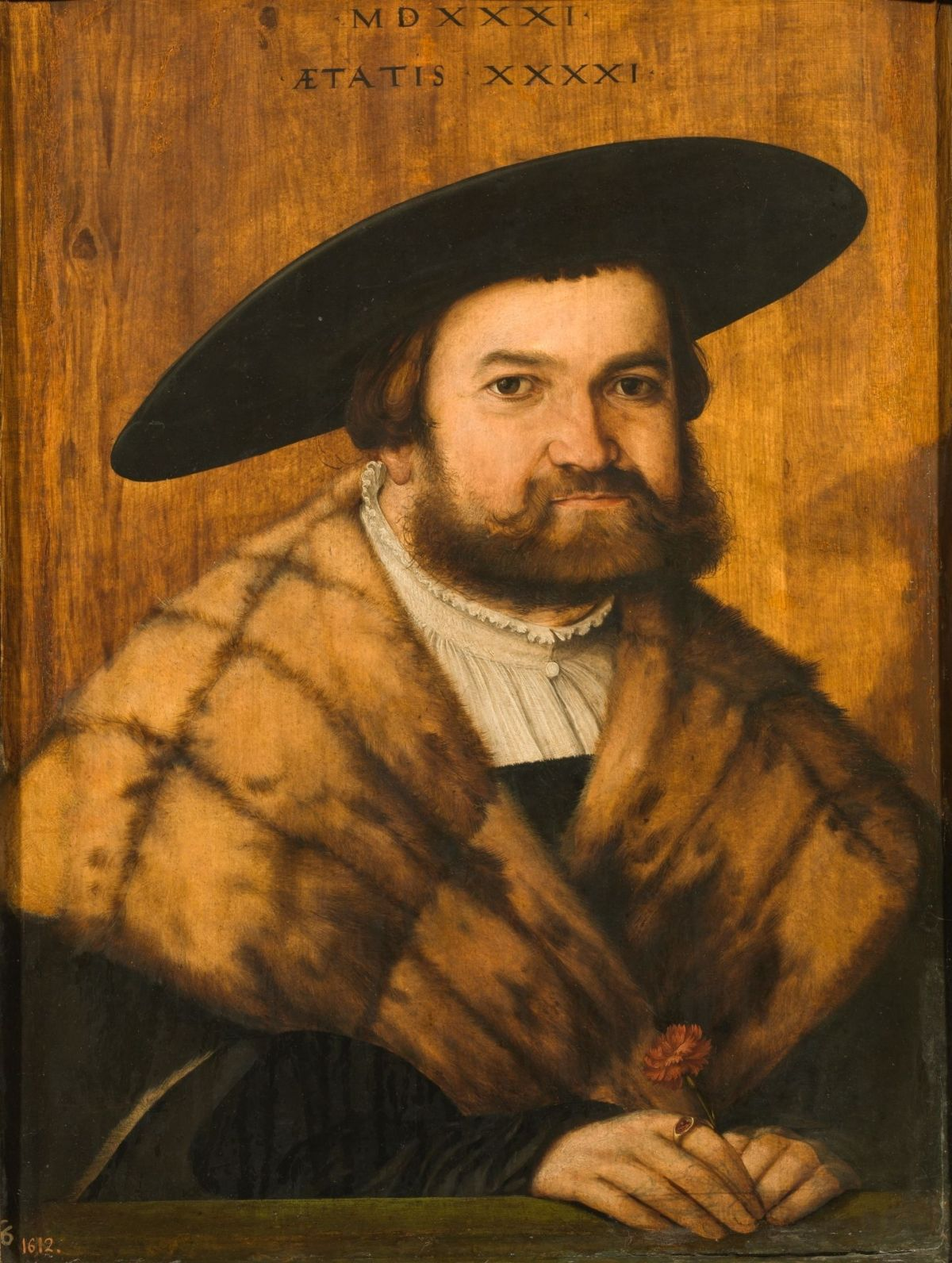 Goldsmith Jorg Zurer of Augsburg by Christoph Amberger