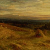 Harvest Time in Sussex by John Linnell