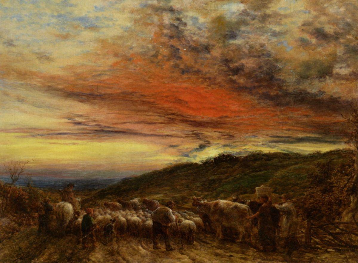 Homeward Bound by John Linnell