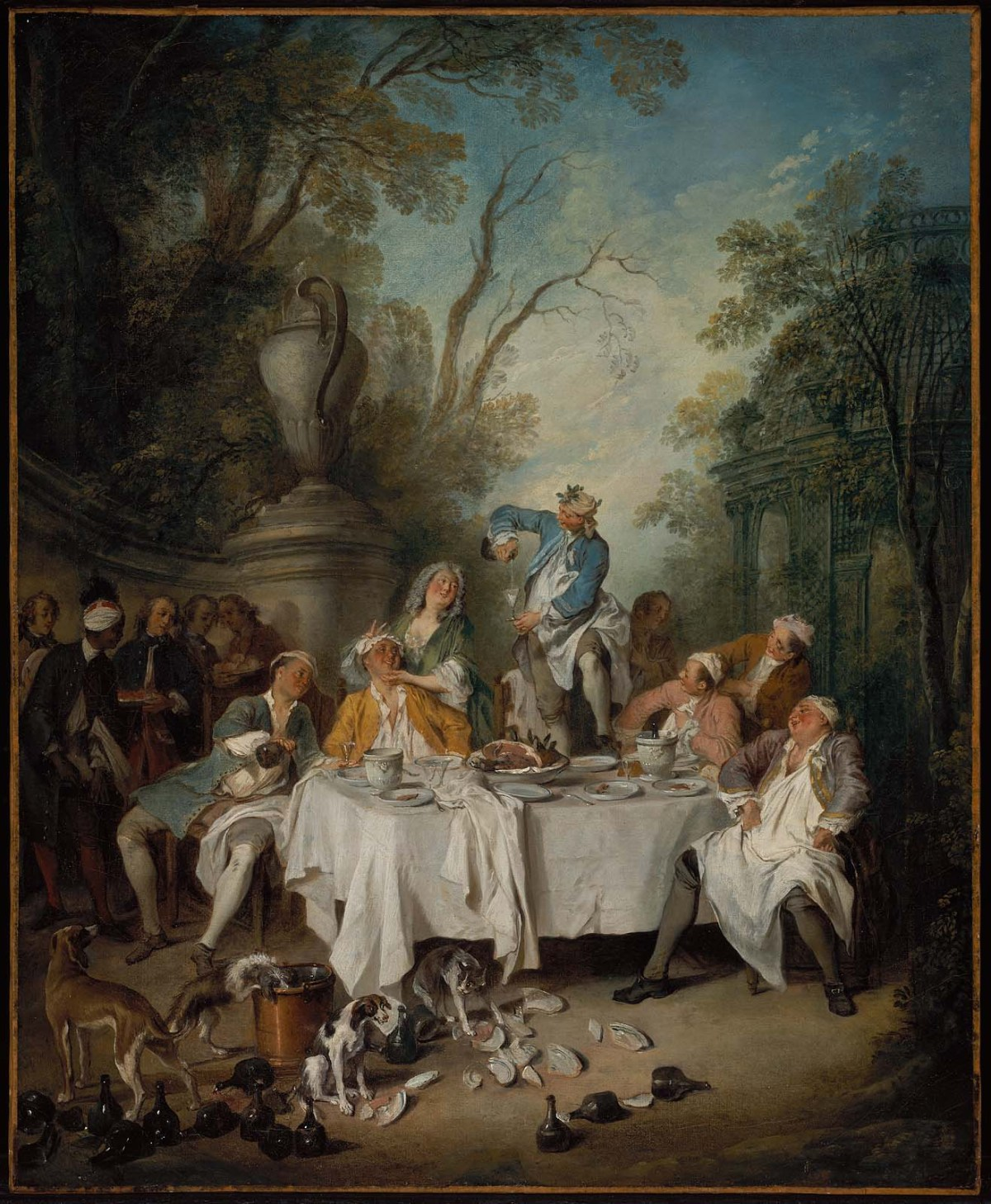 Luncheon Party by Nicolas Lancret