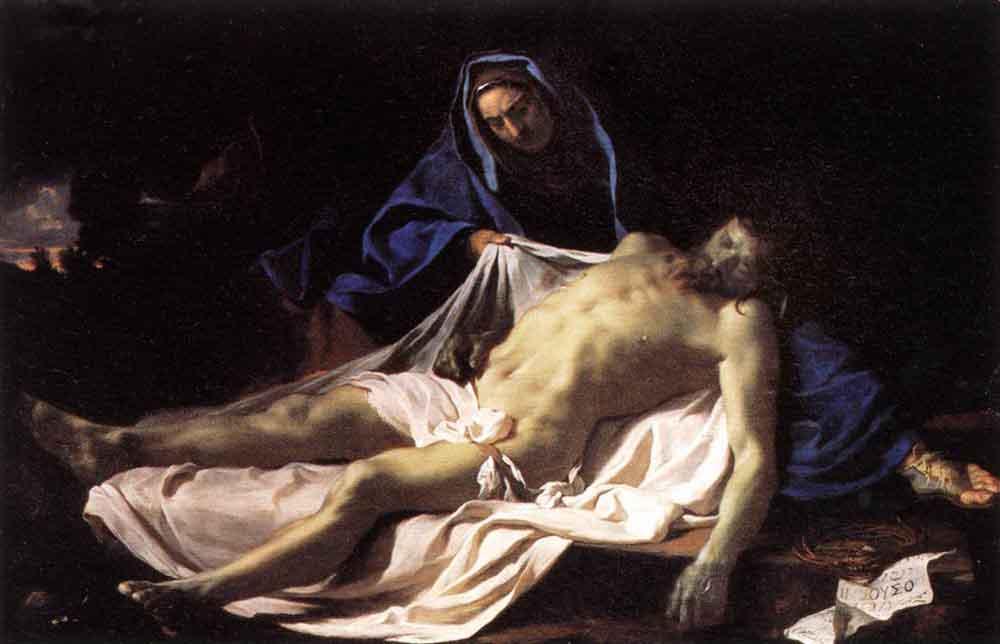 Pietà by Charles Le Brun