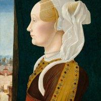 Portrait of Ginevra Bentivoglio by Ercole de' Roberti
