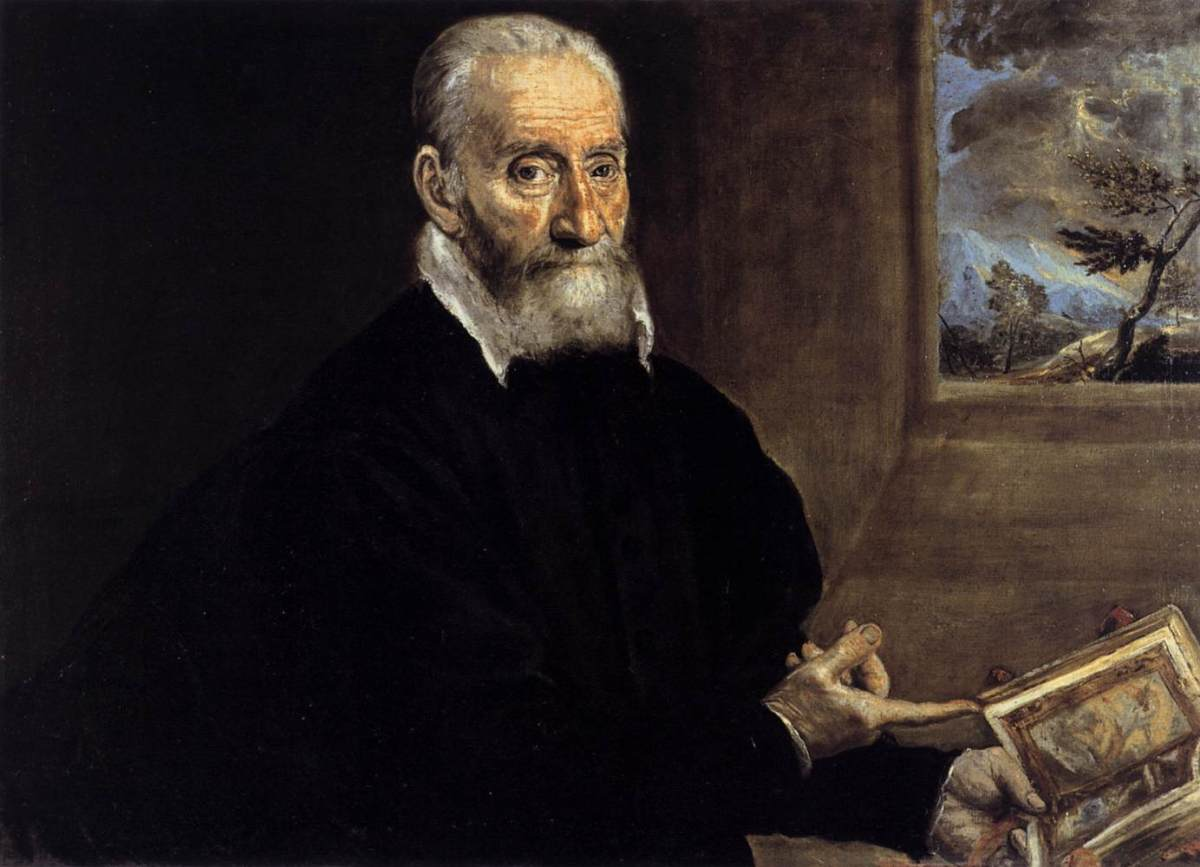 Portrait of Giulio Clovio by El Greco