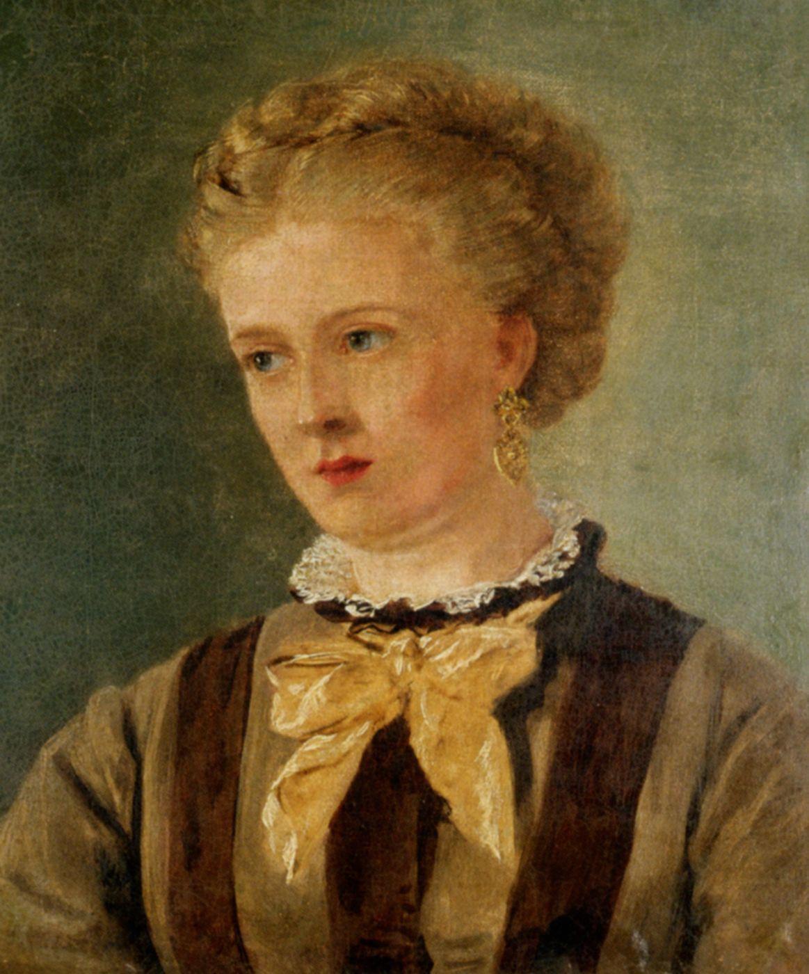 Portrait of Mary Brett by John Brett