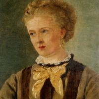 Portrait of Mary Brett by John Brett