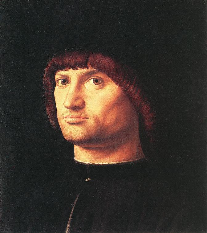 Portrait of a Man (Il Condottiere) by Antonello da Messina