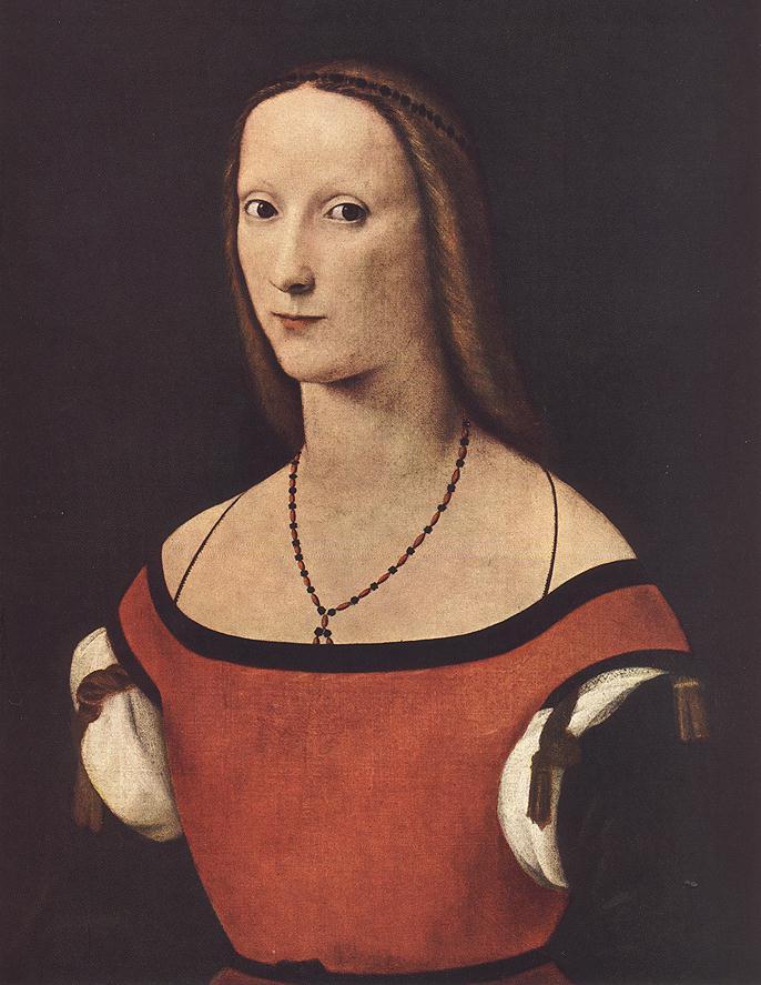 Portrait of a Woman by Lorenzo Costa